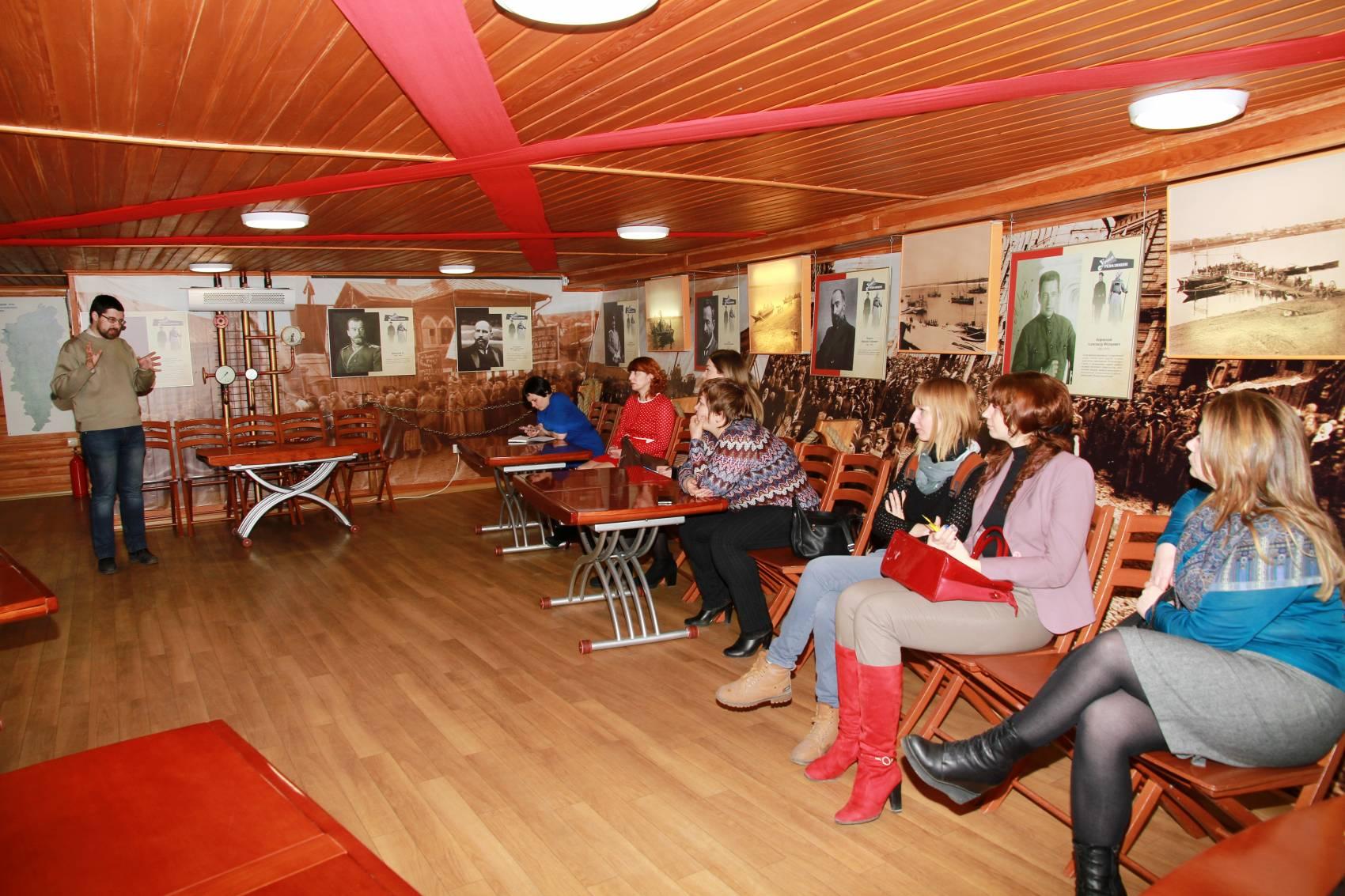 Сотрудники отдела истории КККМ провели профессиональный семинар для учителей истории