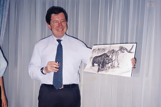 Жак Перо, Президент ИКОМ