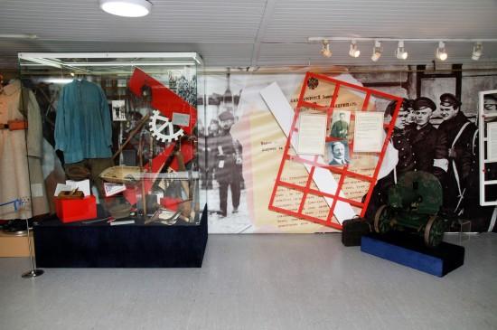 «Уроки революции». Дискуссионный выставочный проект  на пароходе-музее «Св. Николай»
