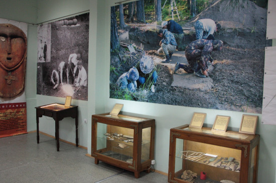 Выставка «Древности Красноярья»