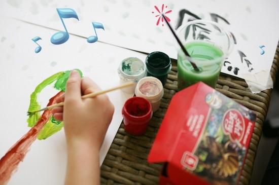 Концерт-рисование «Рисуем музыку»