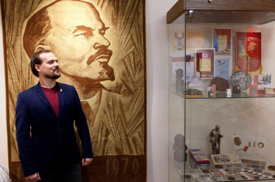 Открытие выставки «Образ Ленина» в Музее-усадьбе Г.В. Юдина