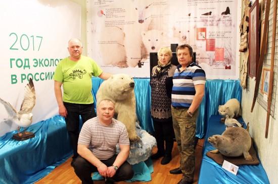 Открытие выставки «Живущий во льдах» в Шарыпово