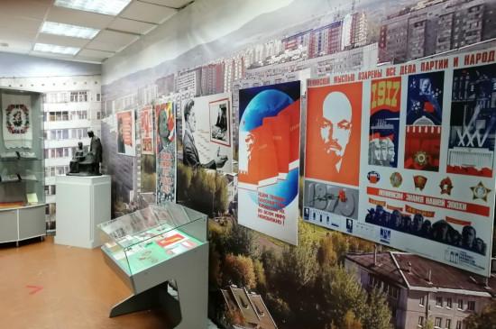 Выставка «Образ Ленина» в передвижном формате открылась в Сосновоборске