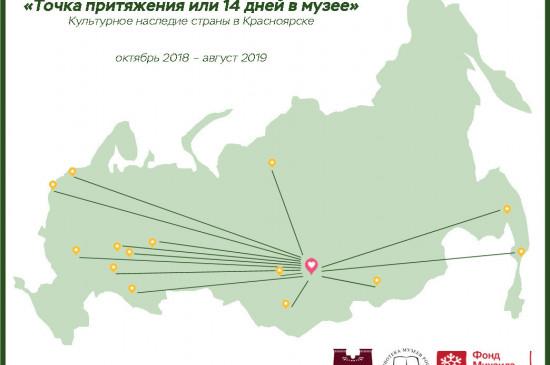 «Точка притяжения, или 14 дней в музее»: презентации музеев России