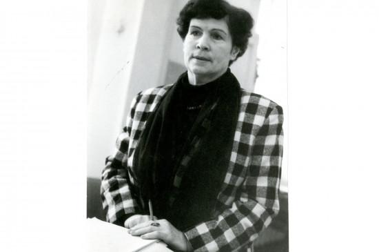 В её трудовой книжке одна запись – Красноярский краевой краеведческий музей