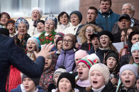 День славянской письменности и культуры: на площади у БКЗ споют хором две тысячи человек