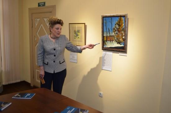 Выставка В. Конецкого «Север в фарватере. Живопись. Акварель»