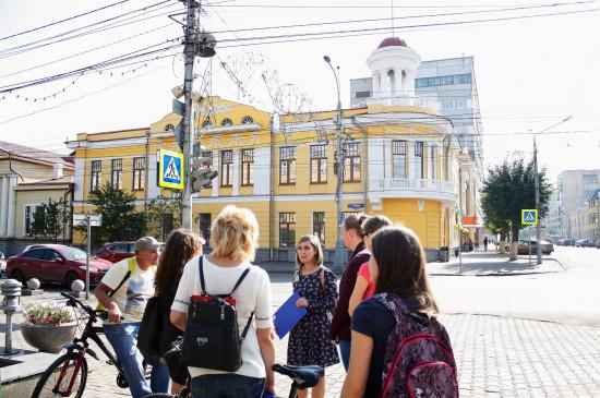 Литературный музей проводит пешеходные экскурсии по центру Красноярска