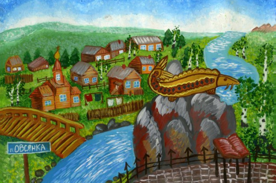 Подведены итоги конкурса детского художественного творчества «В тайге, у Енисея: природа и экология в творчестве В.П. Астафьева»