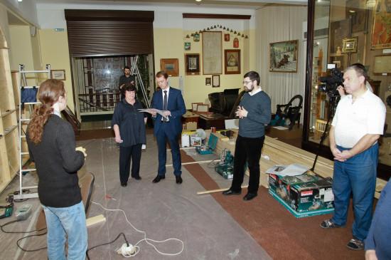 В Красноярском краеведческом музее впервые за 18 лет началась реэкспозиция.