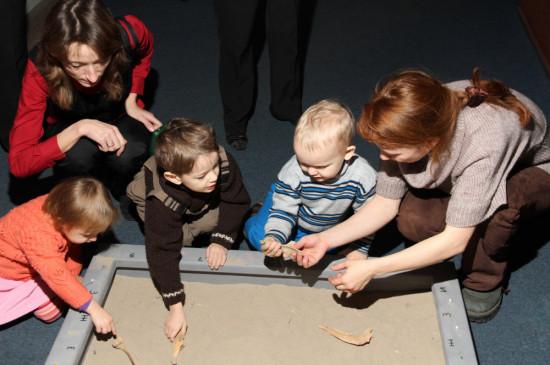Занятие «Юные археологи»