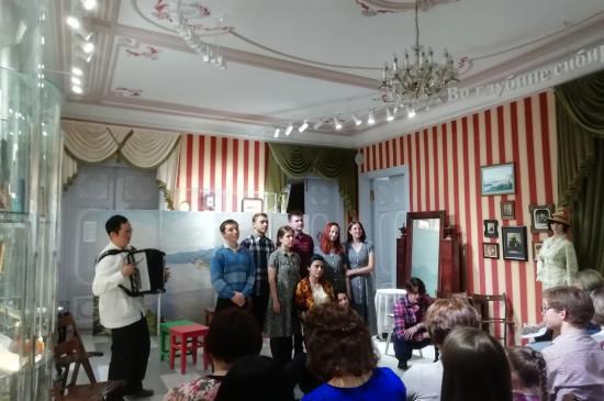 В Литературном музее им. В.П. Астафьева состоялся спектакль «Урок любви» по рассказу В.П. Астафьева «Бабушкин праздник»