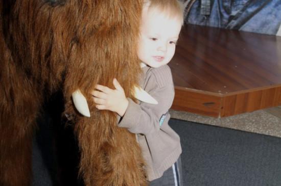 Музеёнок. «День рождения мамонтёнка»