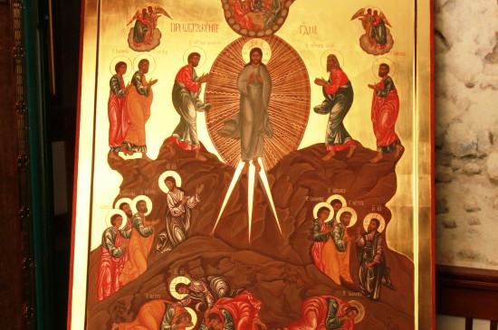 Список иконы «Преображение Господне»