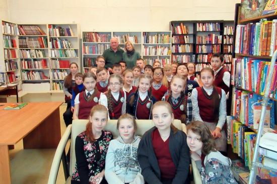 Лекция для детей в библиотеке