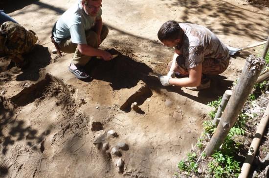 Археологические раскопки Чермянского городища