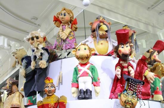 Открытие выставки «Люди и куклы»
