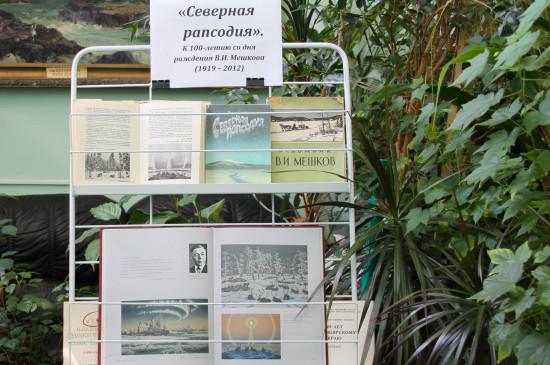 Книжная выставка «Северная рапсодия»