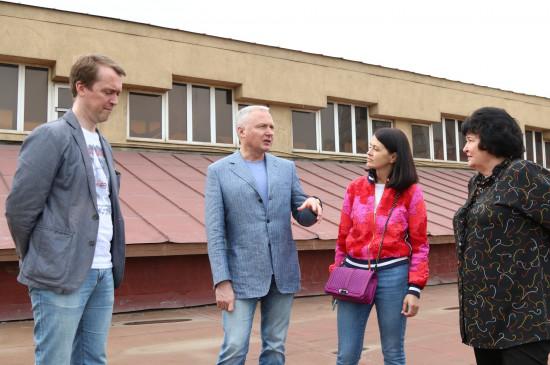 Юрий Лапшин и Аркадий Зинов посетили Красноярский краеведческий музей
