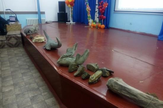 Выставка и лекция «Окаменелые древности Красноярья». 2017 год