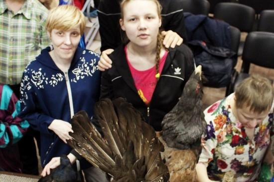 Открытие выставки «Охотничье-промысловые птицы Сибири»