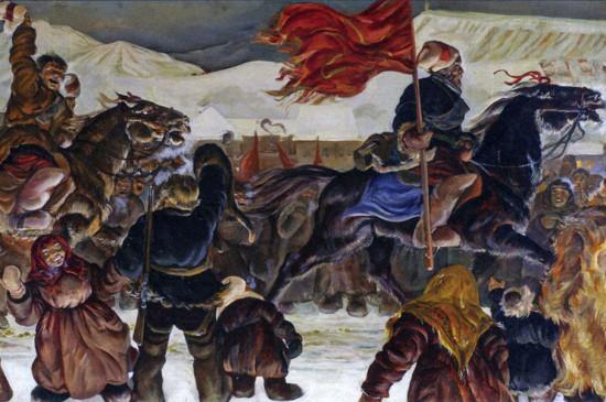 Красноярск. Год 1920