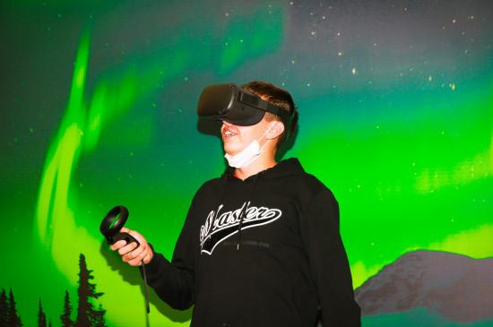 VR-выставка «Северное сияние»
